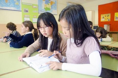学校の英語教室