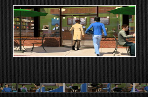 rehearsal カフェの画面
