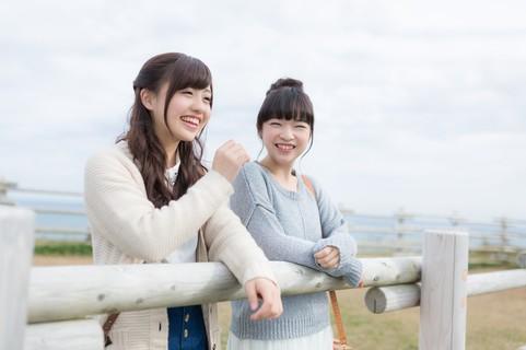 女子旅中の2人