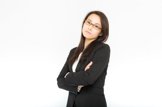 威圧的な女性上司