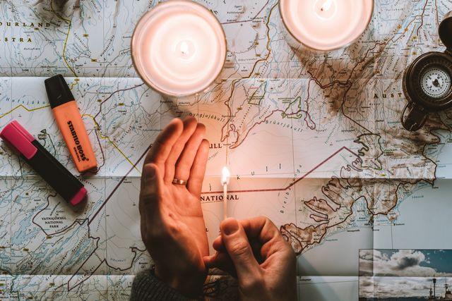 マップを示して