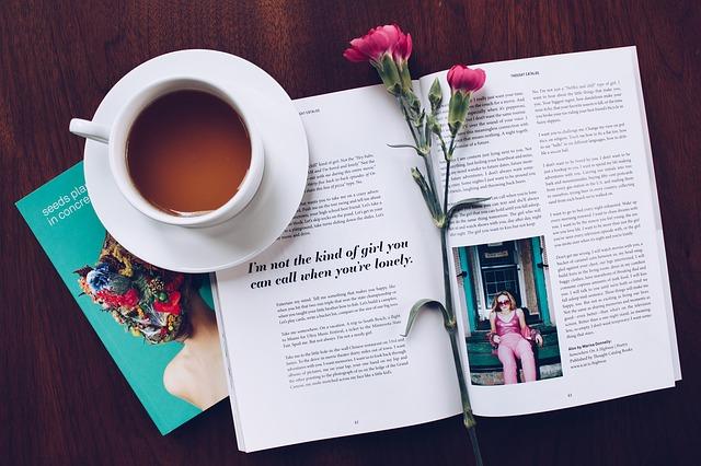 コーヒーと詩集