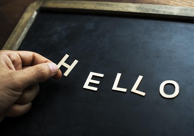 こんにちは!